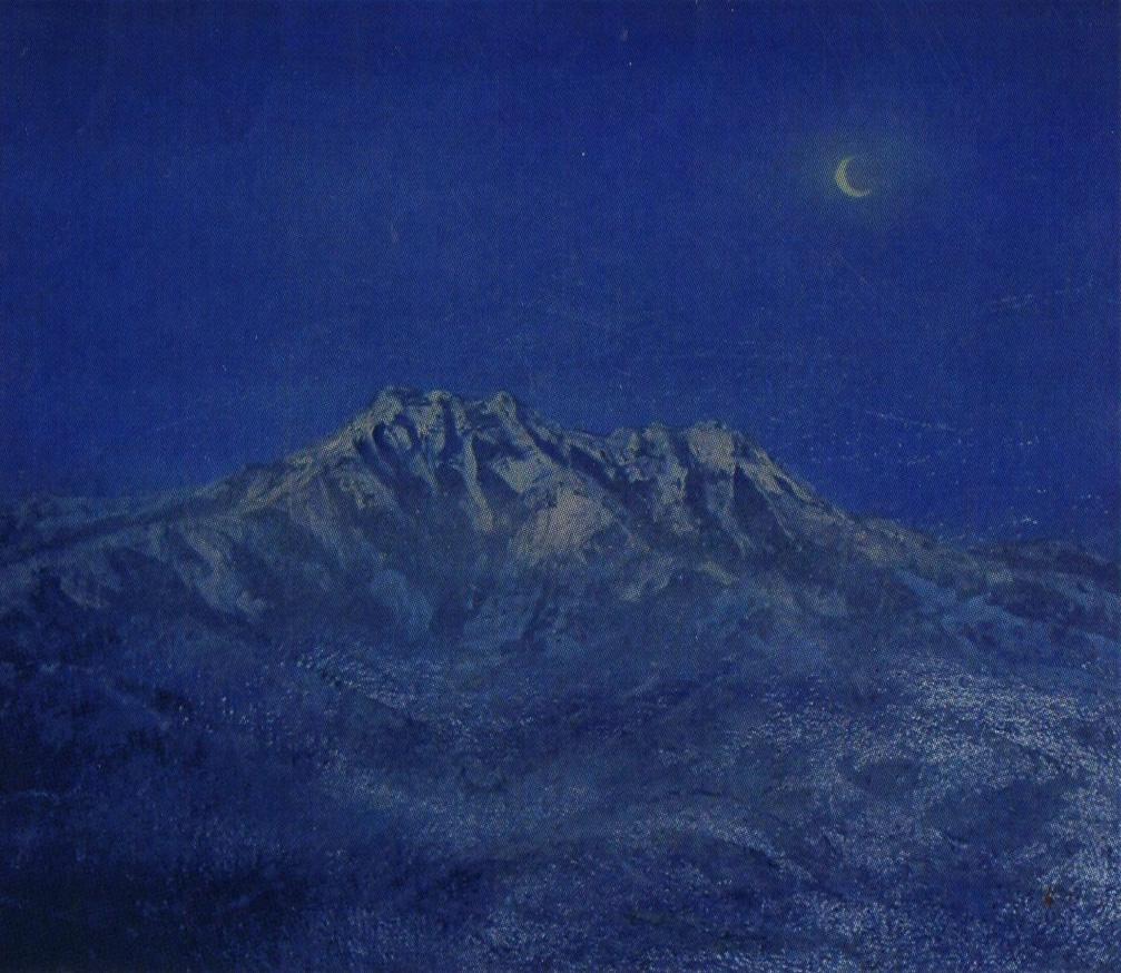高見和秀 静寂の石鎚山