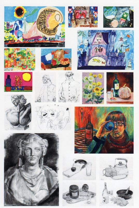 八和田絵画教室 第4回作品展