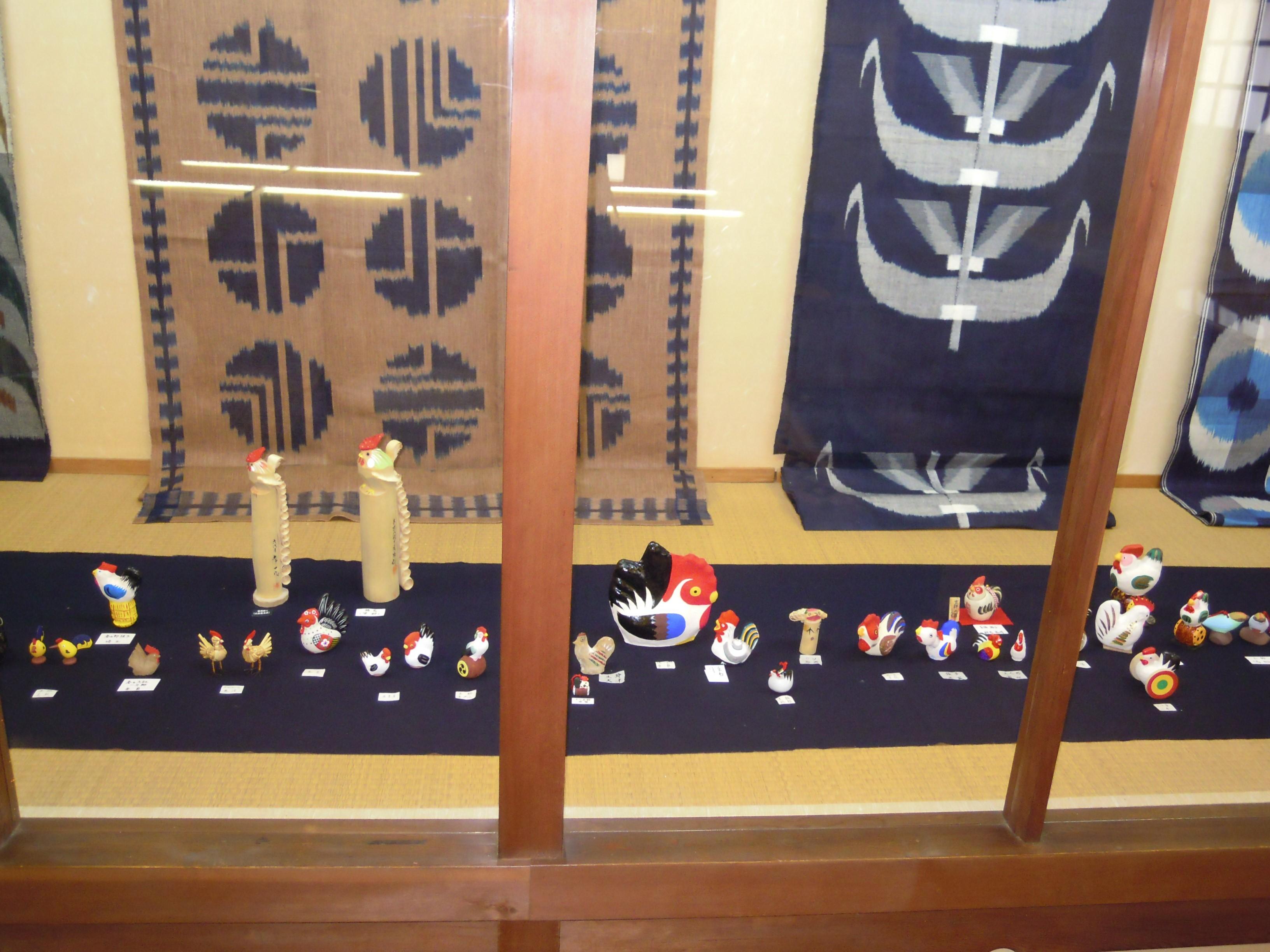 干支(酉年)の郷土玩具展