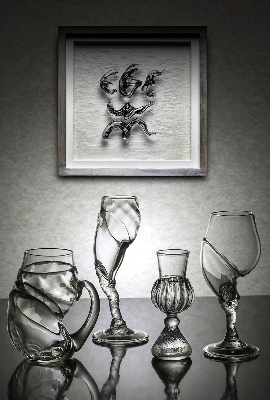 村上恭一吹きガラス展