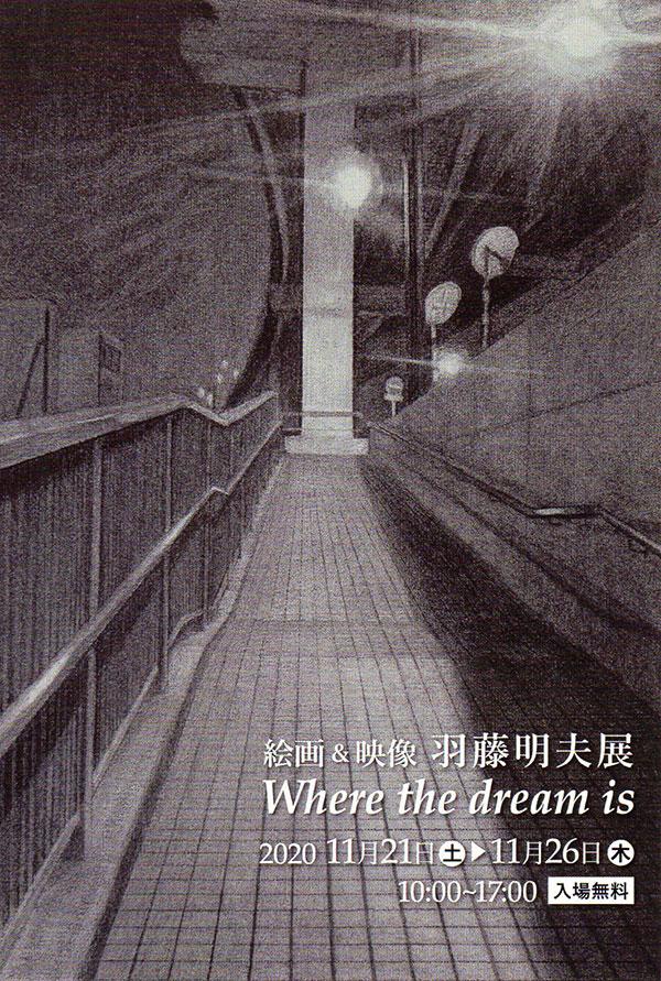 絵画&映像 羽藤明夫展 Where the dream is