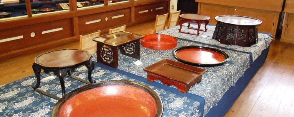 塗物と木工品展