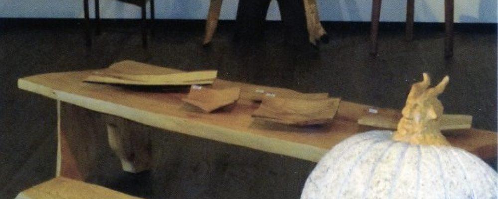 零駒無蔵展 彫刻家の家具と木の器
