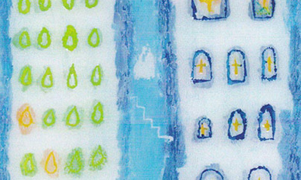 スミダヒロミ ガラス絵 展