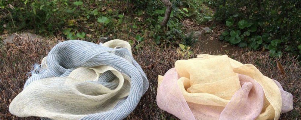 天の川工房展 心地よいヘンプ(麻)の服と小物
